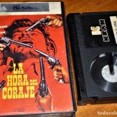Cine: LA HORA DEL CORAJE - JOHN IRELAND, MARK DAMON, MÓNICA RANDALL, UMBERTO LENZI - KRAM - BETA. Lote 268785484