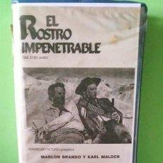 Cine: BETA - EL ROSTRO IMPENETRABLE 1961 MARLON BRANDO KARL MALDEN. CIC VÍDEO. WESTERN.. Lote 268884634