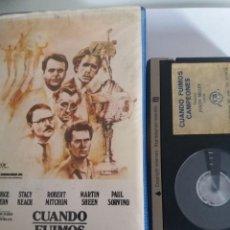 Cine: BETA CUANDO FUIMOS CAMPEONES CP. Lote 268980549