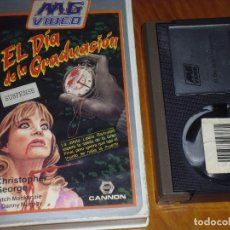 Cine: EL DIA DE LA GRADUACION - CHRISTOPHER GEORGE, PAT MACKANZIE -TERROR - SLASHER - BETA. Lote 269010454
