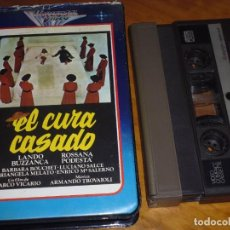 Cine: EL CURA CASADO - LANDO BUZANCA, ROSSANA PODESTA, BARBARA BOUCHET, MARCO VICARIO - VIDEO 2000. Lote 269010549