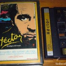 Cine: HECTOR, EL ESTIGMA DEL MIEDO - OVIDI MONTLLOR, LALI ESPINET - TERROR - OSCURO ESPAÑOL - VIDEO 2000. Lote 269010974
