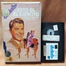 Cine: ESTO ES EL EJERCITO - RONALD REAGAN, KATE SUNTH - BETA. Lote 269755283