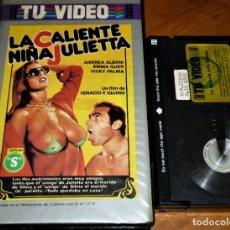 Cine: LA CALIENTE NIÑA JULIETTA - IGNACIO F. IQUINO, ANDREA ALBANI, EMMA QUER, VICKY PALMA - BETA. Lote 270904998
