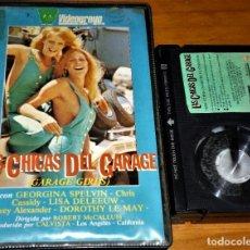 Cine: LAS CHICAS DEL GARAGE / GARAJE - GEORGINA SPELVIN , LISA DELEEUW - EROTICA - EQUIS - BETA. Lote 270906043