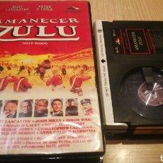 Cine: AMANECER ZULU - BURT LANCASTER / PETER O'TOOLE - BETA. Lote 271380068