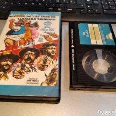 Cine: NINGUNO DE LOS TRES SE LLAMABA TRINIDAD · BETA - DESCATALOGADO · AÑO 1973 /. CHORIZO WESTERN BET. Lote 271445678