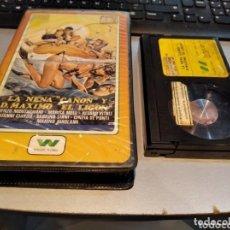 Cine: LA NENA CAÑON Y DON MÁXIMO EL LIGON (1980) - RAREZA MUY ESCASA BETA! BETAMAX. Lote 271446573