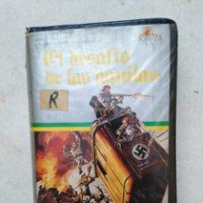 Cine: EL DESAFÍO DE LAS ÁGUILAS, PELÍCULA BETAMAX. Lote 272233413