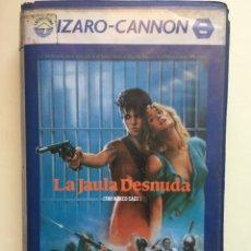 Cine: BETA- LA JAULA DESNUDA - CANNON - SOLO CAJA Y CARATULA. Lote 274323998