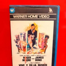 Cine: 007 JAMES BOND VIVE Y DEJA MORIR (1973) - ROGER MOORE, GUY HAMILTON - 1º EDICION. Lote 275739908