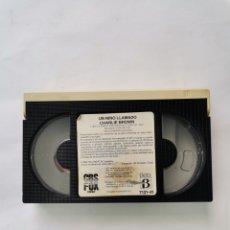 Cine: UN NIÑO LLAMADO CHARLIE BROWN CINTA BETA SNOOPY 1984 CBS FOX. Lote 275866928
