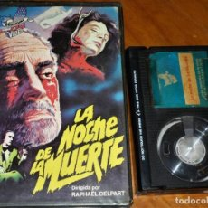 Cinema: LA NOCHE DE LA MUERTE - RAPHAEL DELPART, ISABELLE GOGUEY - TERROR - BETA. Lote 277592758
