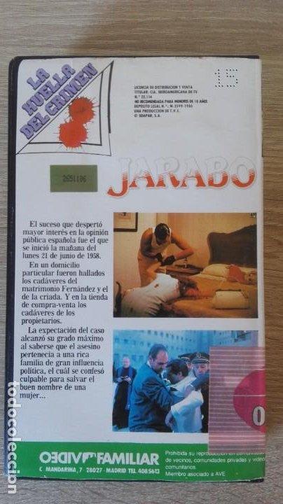 Cine: JARABO-BETA-SANCHO GRACIA-VIDEOFAMILIAR S.A.-AÑO 1986-MUY DIFÍCIL. - Foto 3 - 278493868