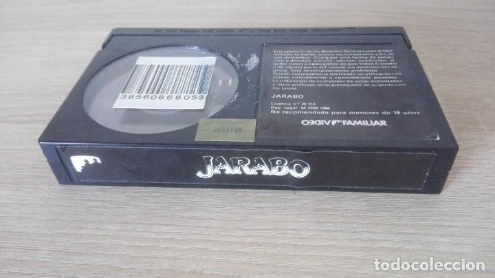 Cine: JARABO-BETA-SANCHO GRACIA-VIDEOFAMILIAR S.A.-AÑO 1986-MUY DIFÍCIL. - Foto 5 - 278493868