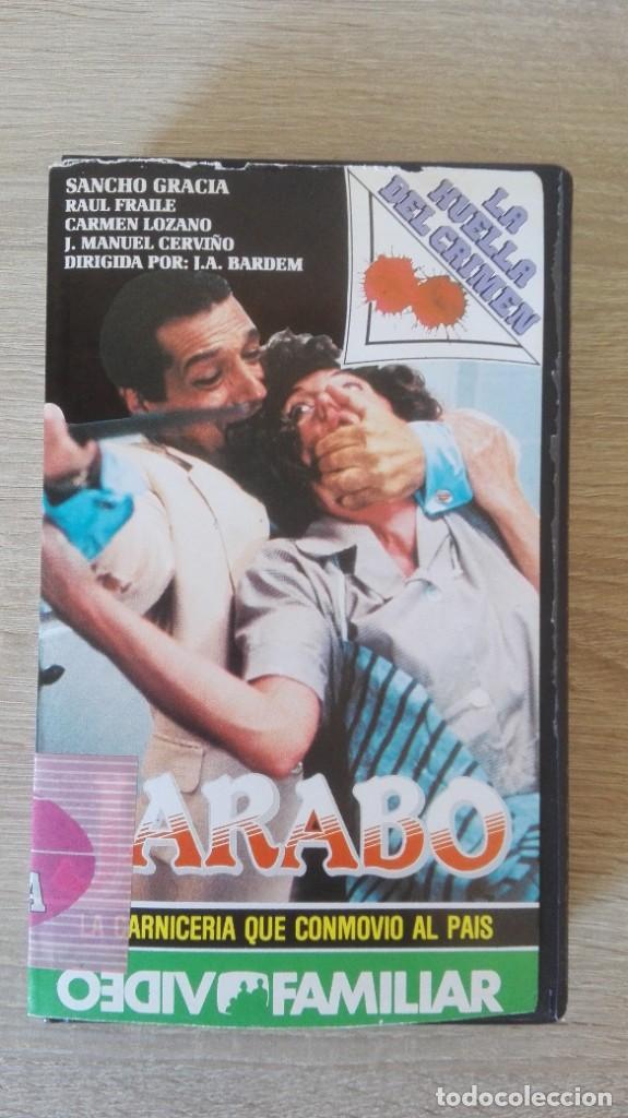 JARABO-BETA-SANCHO GRACIA-VIDEOFAMILIAR S.A.-AÑO 1986-MUY DIFÍCIL. (Cine - Películas - BETA)