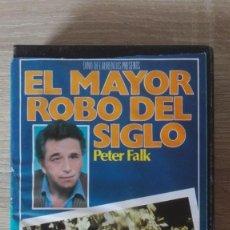 Cine: EL MAYOR ROBO DEL SIGLO-BETA-PETER FALK-S.D.I. SA-AÑO 1984. ESTUCHE MEGRO.. Lote 278503868