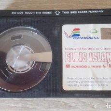 Cine: ELLIS ISLAND 2-BETA-RICHARD BURTON-FAYE DUNAWAY-VIDEOESPAÑA S.A.-AÑO 1984-SÓLO CINTA. MUY DIFÍCIL.. Lote 278508753