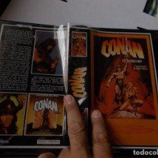 Cine: CONAN EL BARBARO, PELICULA BETA. (GRABACION TV, AÑOS 80). Lote 280803238