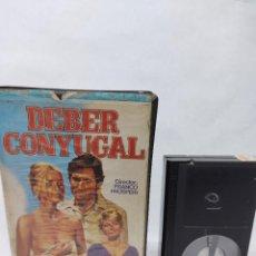 Cine: BETA- DEBER CONYUGAL (1970) .DESCATALOGADA / LANDO BUZZANCA / BARBARA BOUCHET-VIDEO CLUB. Lote 288065168