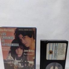 Cine: LOS CAMINOS DE KATMANDOU - ELSA MARTINELLI , JANE BIRKIN , ANDRE CAYETE.BETA VIDEO CLUB. Lote 288065958