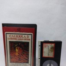 Cine: CALIGULA 3. LA HISTORIA JAMAS CONTADA - DAVID CAIN HAUGHTON, LAURA GEMSER, JOE D´AMATO - BETA. Lote 288067113