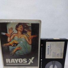 Cine: RAYOS X -HOSPITAL MASSACRE (RARISIMA TERROR)BETA VIDEO CLUB. Lote 288069903