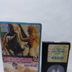 Cine: DECAMERON 2 : LOS OTROS CUENTOS DE BOCCACCIO (1972) - MINO GUERRINI ANTONELLA MURGIA BETA VIDEO CLU. Lote 288072563