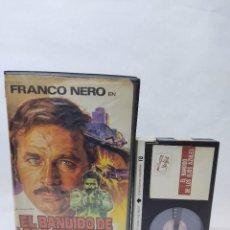 Cine: EL BANDIDO DE LOS OJOS AZULES-BETA VIDEO CLUB. Lote 288153143