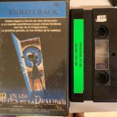 Cine: EN LOS LÍMITES DE LA REALIDAD VÍDEO 2000 VÍDEO CRACK. Lote 288595963