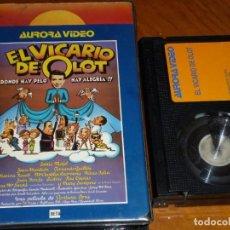 Cine: EL VICARIO DE OLOT - ENRIC MAJÓ, FERNANDO GUILLEN, ROSA MARIA SARDÁ, VENTURA PONS - AURORA - VHS. Lote 288604638