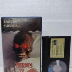 Cine: VIERNES 13: TERROR EN CASA II 2 VIDEO CLUB BETA. Lote 289229853