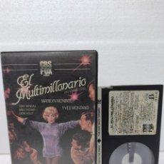 Cine: EL MULTIMILLONARIO - MARILYN MONROE - 1ª EDICION CBS FOX VIDEOCLUB - BETA. Lote 289326143