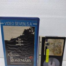 Cine: EL ASESINO DE ROSEMARY - JOSEPH ZITO, VICKY DAWSON, LAWRENCE TIERNEY - TERROR - SLASHER - BETA. Lote 289330638