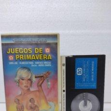 Cine: JUEGOS DE PRIMAVERA SIRPA LANE,ANDREA BIANCHI..BETA VIDEO. Lote 290028803
