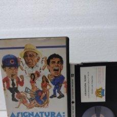 Cine: ASIGNATURA RUGBY - MARK WARREN - JOHN VERNON-VIDEO BETA. Lote 290029303