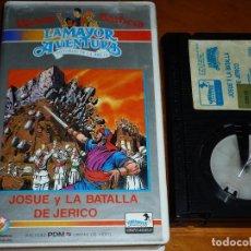 Cine: JOSUE Y LA BATALLA DE JERICO - LA MAYOR AVENTURA - DIBUJOS ANIMADOS HANNA BARBERA - BETA. Lote 295402888