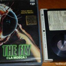 Cine: LA MOSCA / THE FLY - DAVID CRONENBERG, JEFF GOLDBLUM - TERROR - 1ª EDICION VIDEOCLUB CBS FOX - BETA. Lote 295460608