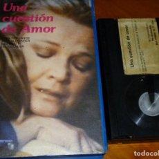 Cine: UNA CUESTION DE AMOR - JERRY THORPE, GENA ROWLANDS, NED BEATTY - BETA. Lote 295469358