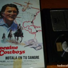 Cine: COCAINE COWBOYS. NOTALA EN TU SANGRE - JACK PALANCE - BETA. Lote 295474013
