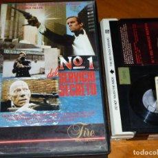 Cine: Nº 1 DEL SERVICIO SECRETO - NICKY HENSON, RICHARD TODD, LINDSAY SHONTEFF - BETA. Lote 295485383