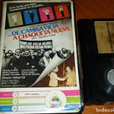 Cine: DE CAMISA VIEJA A CHAQUETA NUEVA - MANOLO CODESO, MARIA CASANOVA, CHARO LOPEZ, RAFAEL GIL - BETA. Lote 295493568