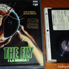 Cine: LA MOSCA / THE FLY - DAVID CRONENBERG, JEFF GOLDBLUM - TERROR - 1ª EDICION VIDEOCLUB CBS FOX - BETA. Lote 295494143