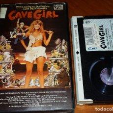 Cine: CAVE GIRL / CAVERNICOLA 2 - DANIEL ROEBUCK, CINDY ANN YOUNG, DAVID OLIVER - BETA. Lote 295494388