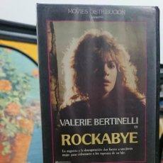 Cine: ROCKABYE- RICHARD MICHAELS - VALERIE BERTINELLI, RACHEL TICOTIN - MOVIES DISTRIBUCION. Lote 295494793