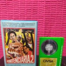 Cine: PENITENCIARIA 2 - MR T , JAMAA FANAKA - CIVSA CINTA VERDE - BETA. Lote 296685903