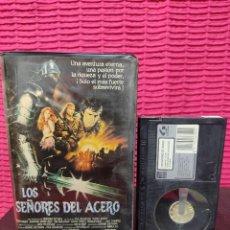 Cine: LOS SEÑORES DEL ACERO .VIDEO BETA. Lote 296686668