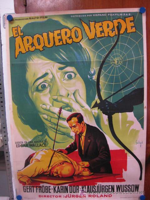 EL ARQUERO VERDE. GERT FROBE, KARIN DOR. ILUSTR.: SOLIGO . LITOGRAFIA. 1961 (Cine - Películas - Blu-Ray Disc)