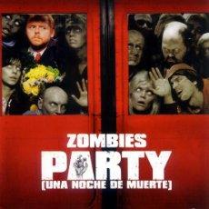 Cine: ZOMBIES PARTY (UNA NOCHE DE MUERTE) ( BLU - RAY PRECINTADO) EXPERIMENTA YA LA ALTA DEFINICION. Lote 26476920