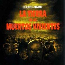 Cine: LA TIERRA DE LOS MUERTOS VIVIENTES ( BLU - RAY PRECINTADO ) PRODUCTO DESCATALOGADO. Lote 185697210